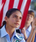 Flag Ceremonies  Honoring the American Flag