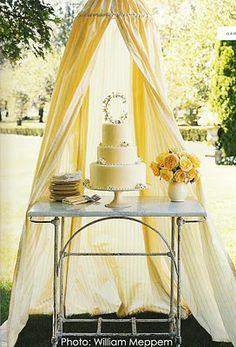 wedding cake tent