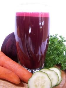 """Juice for Your Palate…Page 101 """"1 Pound A Day"""" If you are a juice novice, here is a great juice recipe to ease you into juicing!  SWEET IMMUNE JUICE 2 large carrots 1 large beet 1 ½ cucumbers"""
