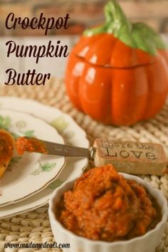 Easy to make and delicious Crockpot Pumpkin Butter