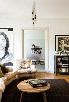 decor, interior design, coffee tables, living rooms, hous, vintage homes, portraits, live room, photo art