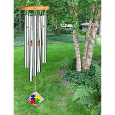 Woodstock Chimes for Autism (WAUT, $55.45) is the latest in our Charitable Chimes series, and was inspired by Tyler Doi and other children living with autism. 100% of after-tax profits from the sale of this chime are donated for #autism research and support.