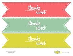 Printable Tag for Teacher Gift