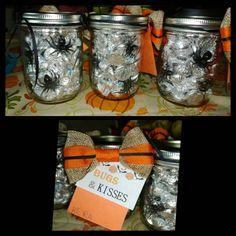 Halloween teacher gift -Bugs and kisses