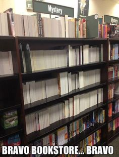Well played, bookstore.