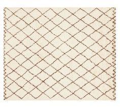 Beni Ourain Rug | Pottery Barn $599 5x8