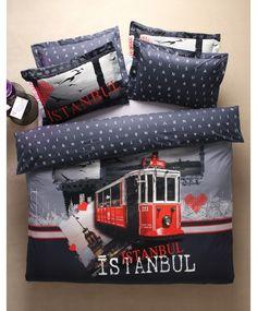 Karaca Home City İstanbul Nevresim Takımı **Çift Kişilik 94,90 TL - Tek Kişilik 79,90 TL**  http://www.markoroma.com/U572,83,karaca-home-city-istanbul-nevresim-takimi-city-karaca-home-istanbul.htm