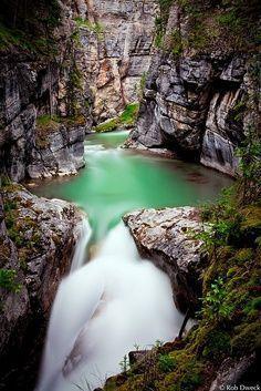 Maligne Canyon ,Jasper National Park, Alberta, Canada