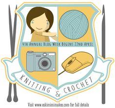 Knitting & Crochet Blog Week 2013 - Join In Here! | Eskimimi Makes