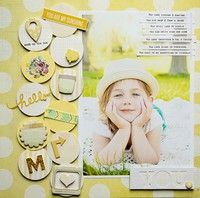 A Project by A2Kate from our Scrapbooking Gallery originally submitted 06/11/13 at 10:14 AM