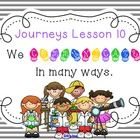 Here are 64 interactive Smart Board slides to cover a full week of Journeys Lesson 10, grade 3!  It is aligned with the Common Core! I hope you hav...