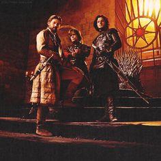 "Nikolaj Coster-Waldau, Peter Dinklage, Kit Harington for ""Game of Thrones"""