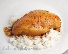 For a no-fail chicken recipe that is sure to be a hit every time you serve it, try making this Sweet and Tangy Glazed Chicken recipe. Easy chicken breast recipes like this one are great for picky eaters and busy nights.