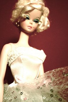 All dolled up Barbie