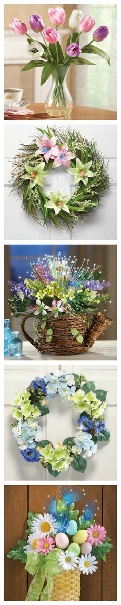 Easter Decorations #FloralArrangements