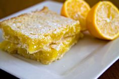 Lemon Squares | #vegan recipe by Chef Joey