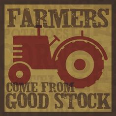 Farmers. Indeed they do!!!