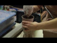 Clay Pottery Slab Building: How to Make Clay Slip