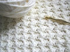 Pinner says :This easy stitch is perfect for an afghan or blanket. It is just sets of 3 stitches, one single crochet and two doubles. Once you get into the hang of it, you can do it in your sleep! - Click image to find more DIY & Crafts Pinterest pins.