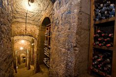 ancient wine cellar  Don Alfonso 1890 - Starred Restaurant