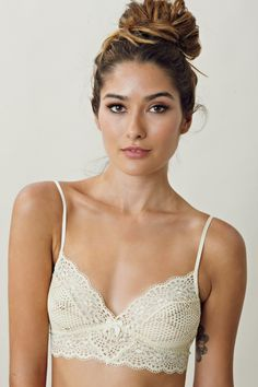 Essential summer lingerie: lace bralets