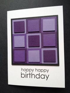 Scrap Squares - Purple