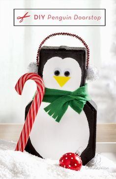 Penguin Crafts on http://www.cherylstyle.com
