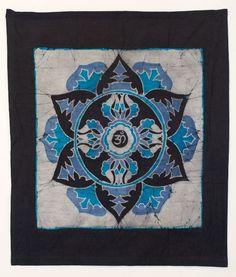 tattoo idea, handmad batik, mandala om, batik gift