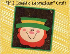 A great St. Patty's Day unit with a cute this craft and writing activity included.