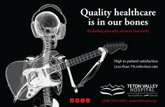 Teton Valley Health Care is proud to be a sponsor of this year's Music on Main concert series.  Quality healthcare is in our bones (including specialty services that rock!)  http://www.tvhcare.org  #healthad #marketing #advertising