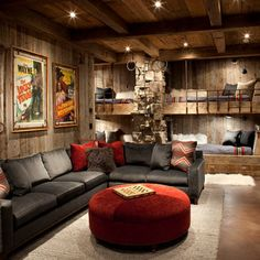 Rustic Bunk House Design