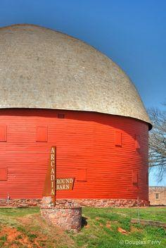 Barn In Arcadia, Oklahoma