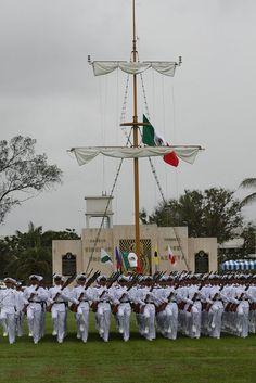 Puerto De Veracruz Mexico | Puerto de Veracruz y Jura de Bandera de los Cadetes de Primer Año de ...