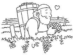 Vineyard _5.gif (500×375)-coloring sheet for Naboth's Vineyard