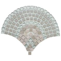 Merola Tile Tessera Arch Salton 11-3/4 in. x 9-3/4 in. Glass/Stone Mosaic Wall Tile