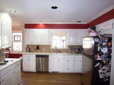 """This Marietta kitchen underwent a kitchen """"facelift!"""" Not a complete r…"""