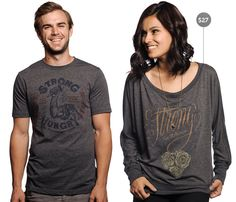 Love the shirts this week that will help feed people in Haiti through Heifer Int'l.  Sevenly rocks as always!