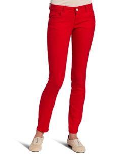 #10: Vanilla Star Juniors Skinny Colored Denim Jean