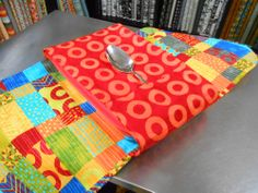 Fabric Casserole Carrier, so cute.