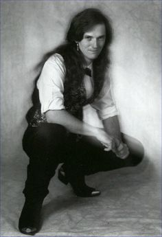 Science fiction and fantasy author Steven R. Boyett proudly rocked the long hair in the eighties. #GeekPrideDay