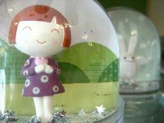 snow globe of cuteness