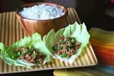 P.F. Chang's lettuce wraps at home.