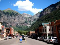 Telluride, CO, Our Favorite town....We will see you 4th of July!!
