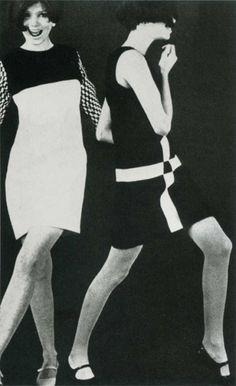 John Bates Mod Dresses 1960s