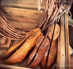 Old Wood Shoe Forms