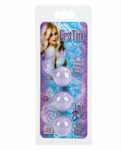 California Exotic Novelties First Time Love Balls Triple Lover, Purple by California Exotic Novelties. $12.77. Brand new