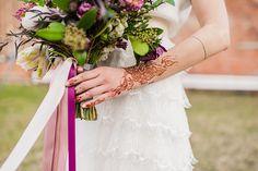 Henna tattoo, bridal