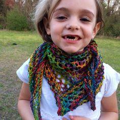 Bright lights shawl on Ravelry! Free pattern!