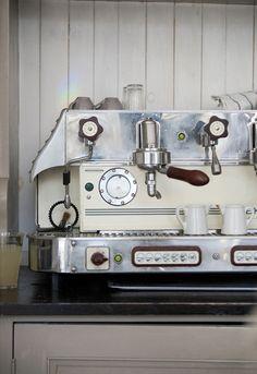 a most beautiful espresso machine <3