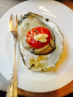 Oysters on the half shell - at The St. Regis, New York